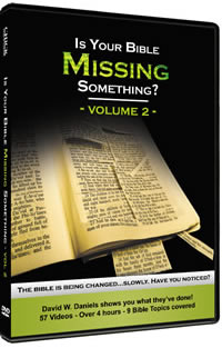 Vol 2 - Is Your Bible Missing Something?
